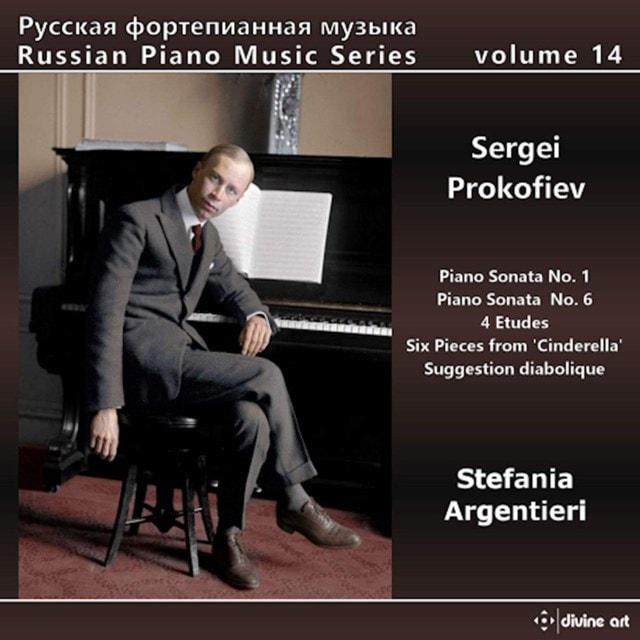 Sergei Prokofiev: Piano Sonata No. 1/Piano Sonata No. 6/4 Etudes - 1