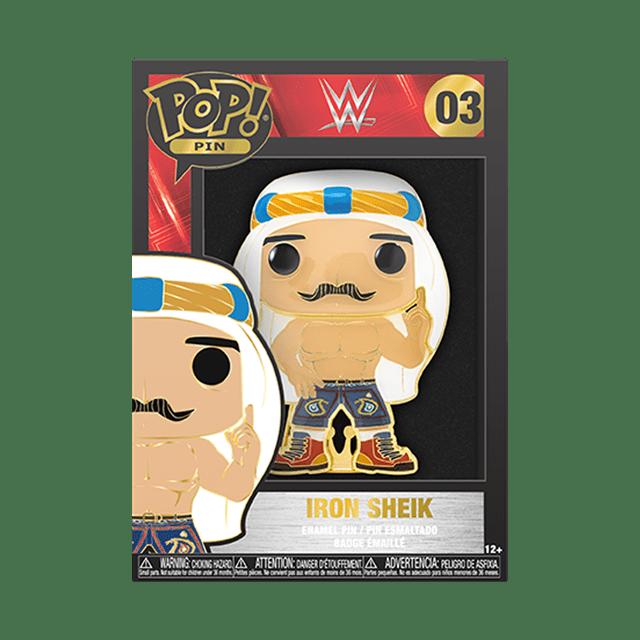 Iron Sheik: WWE Funko Pop Pin - 2