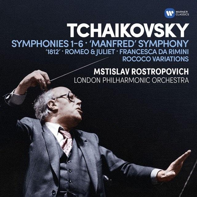 Tchaikovsky: Symphonies 1-6/'Manfred' Symphony/'1812'/... - 1