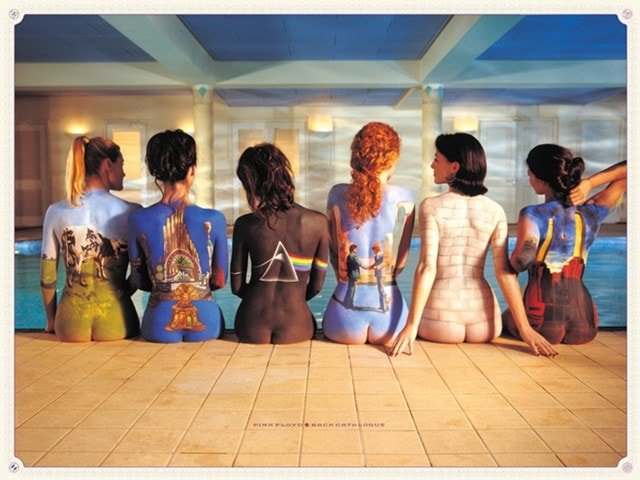 Pink Floyd: Back Catalogue Canvas Print - 1