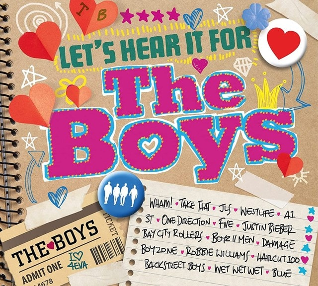 Let's Hear It for the Boys - 1