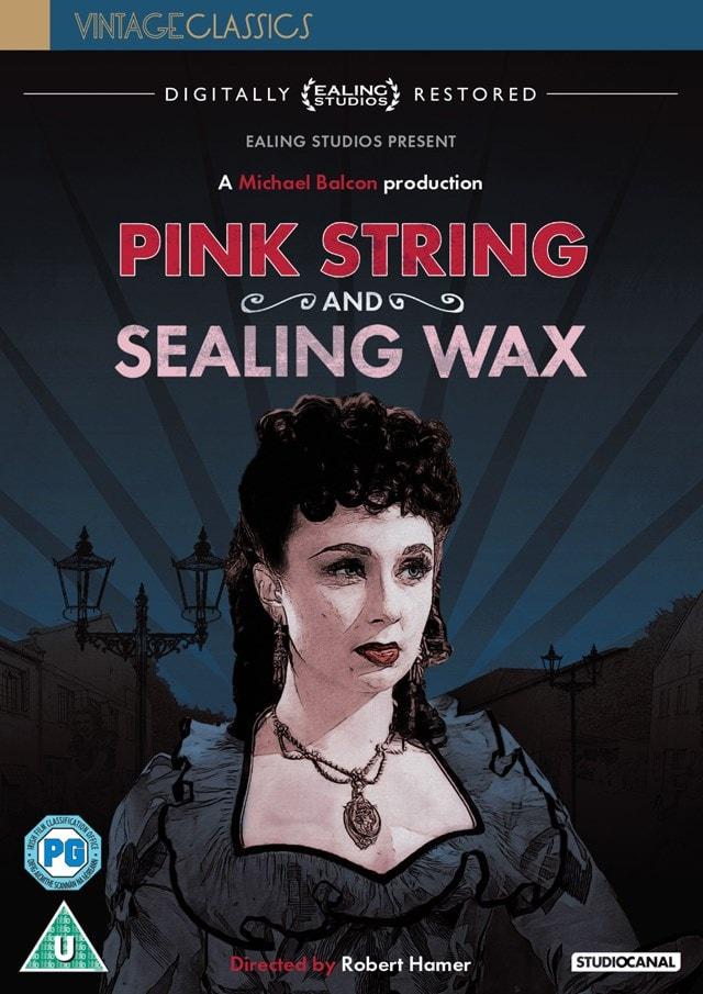 Pink String and Sealing Wax - 1