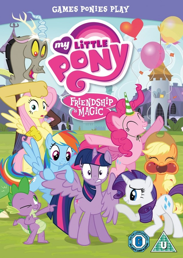 My Little Pony - Friendship Is Magic: Games Ponies Play - 1