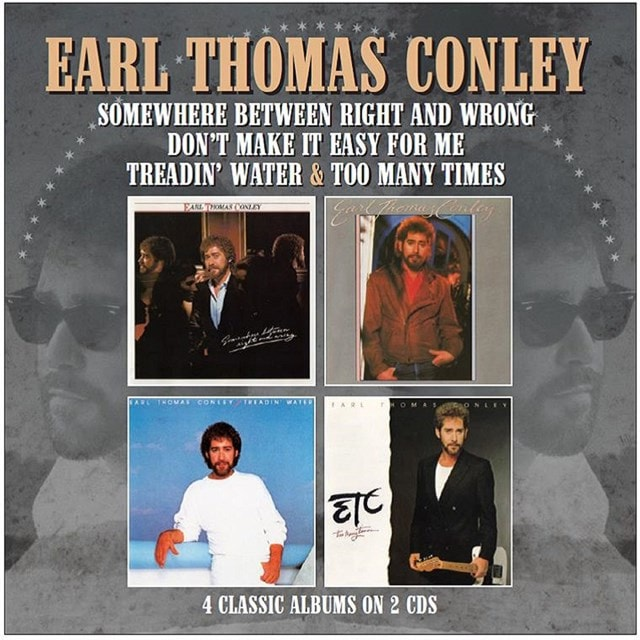 Somewhere Between Right and Wrong/Don't Make It Easy for Me/...: Treadin' Water/Too Many Times - 1