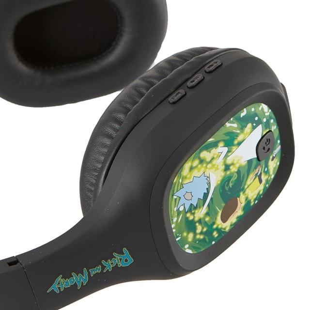 Lazerbuilt Rick & Morty Portal Bluetooth Headphones - 2