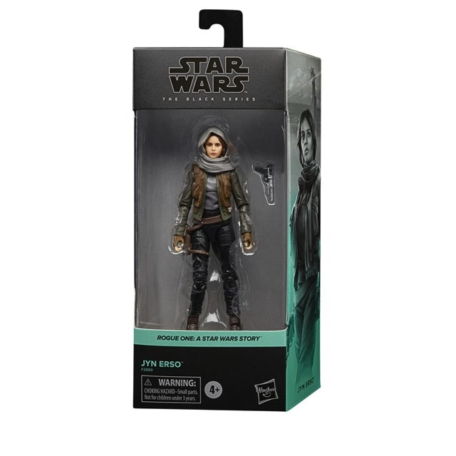 Jyn Erso Rogue One Star Wars Black Series Action Figure - 9