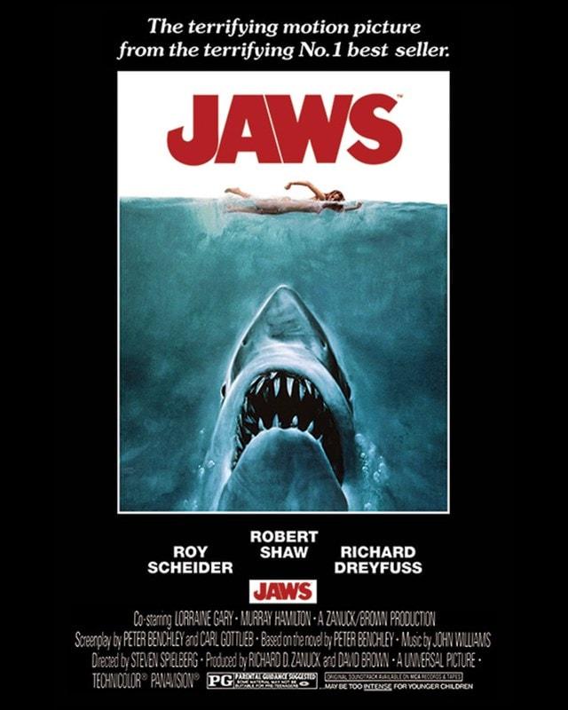 Jaws Canvas Print - 1
