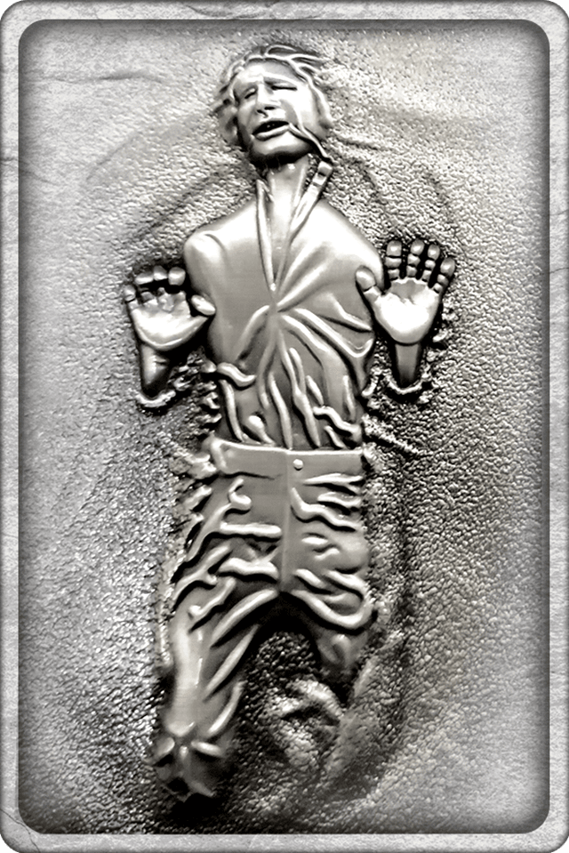 Han Solo In Carbonite: Star Wars Limited Edition Ingot Collectible - 2