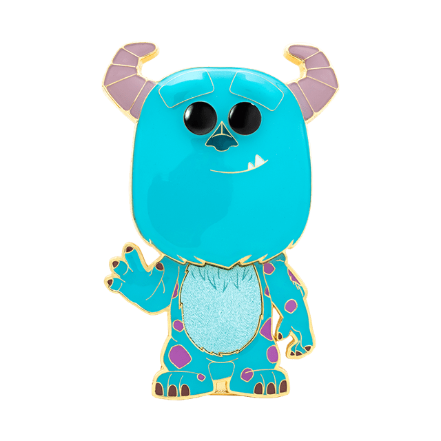 Sulley: Monsters Inc Funko Pop Pin - 1