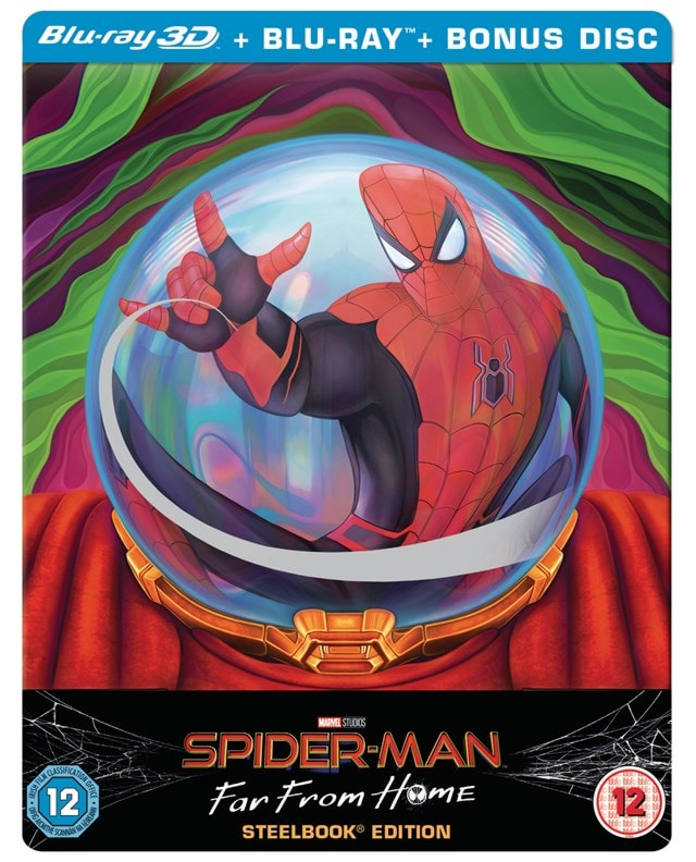 Spider-Man - Far from Home (hmv Exclusive) Limited Edition Steelbook - 1