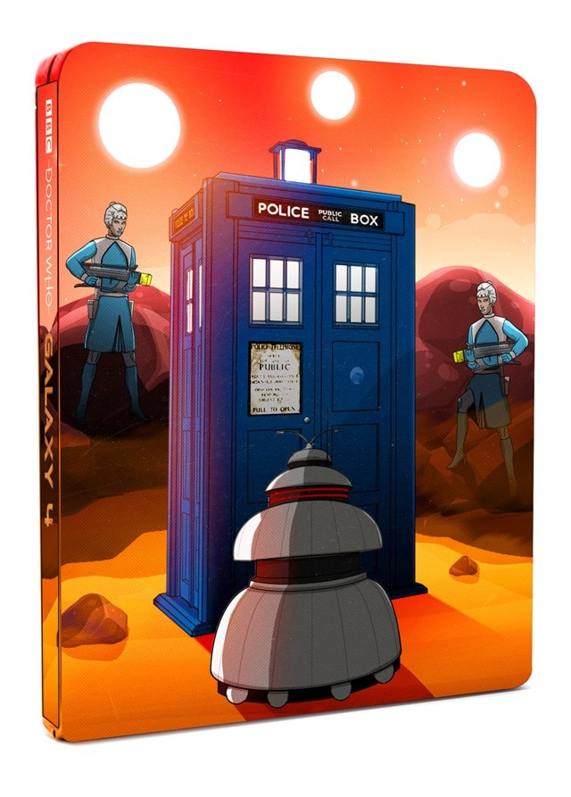 Doctor Who: Galaxy 4 Limited Edition Steelbook - 3