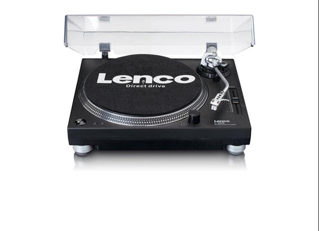 Lenco LS-3809 Black Direct Drive Turntable - 3