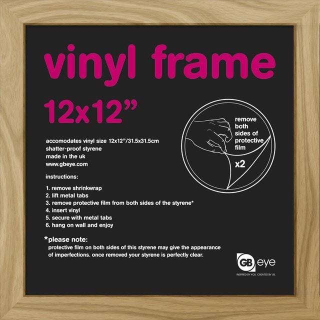 "12"" Album Cover Frame: Oak: 31.5X31.5cm: 30mm (online only) - 1"