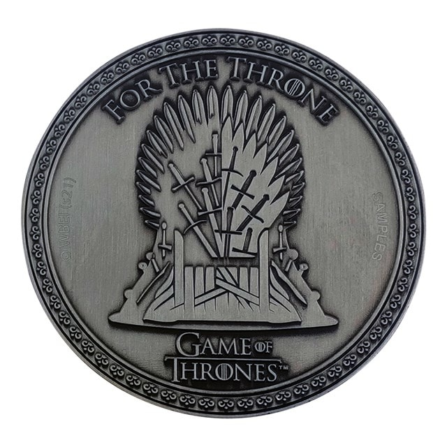 Game of Thrones: Iron Anniversary Limited Edition Medallion - 10