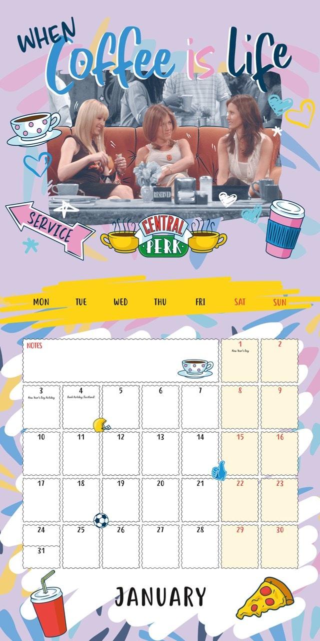 Friends Square 2022 Calendar - 4