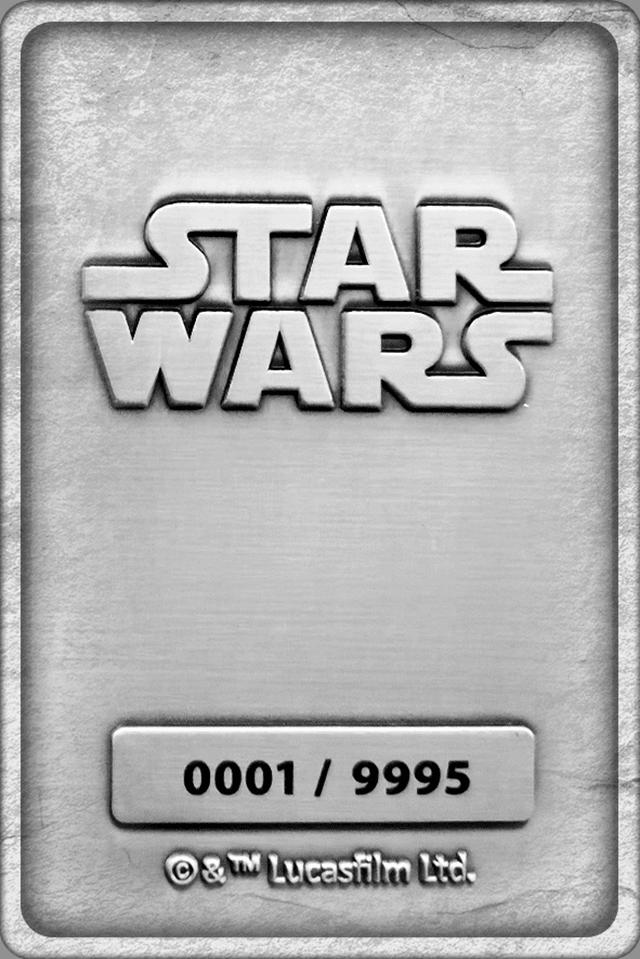 Mandalorian And Baby Yoda: Star Wars Metal Collectible - 3