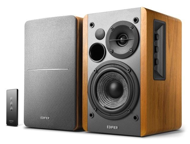 Edifier R1280T Wood Active Bookshelf Speakers - 1