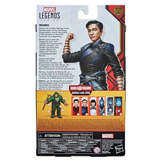 Wenwu: Shang-Chi And Legend Of The Ten Rings: Marvel Legends Series Action Figure - 6
