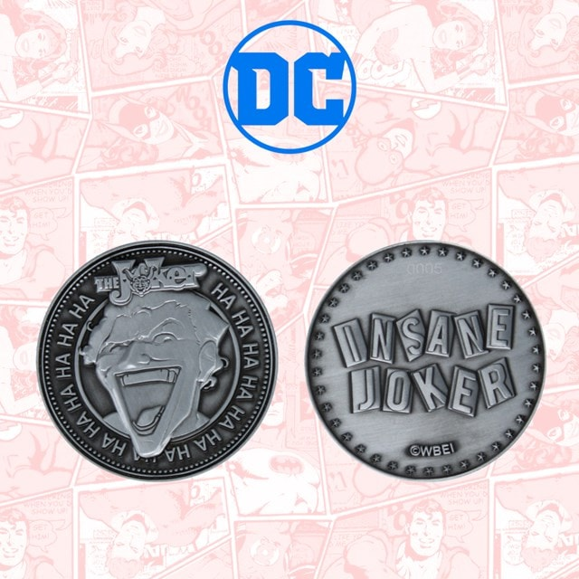 Joker: DC Comics Limited Edition Coin - 5