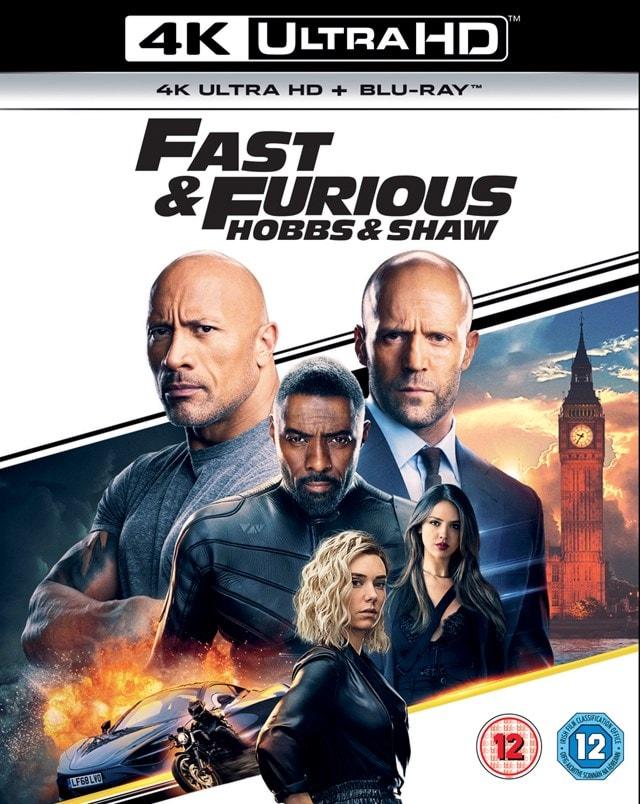 Fast & Furious Presents: Hobbs & Shaw - 1