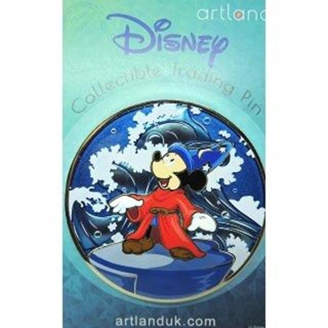 Fantasia Mickey Conducting: Disney Limited Edition Artland Pin - 3