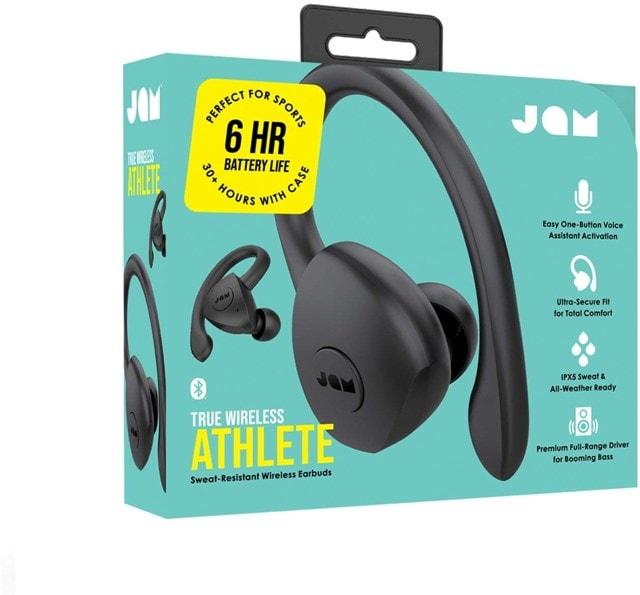 Jam Athlete Black True Wireless Bluetooth Sports Earphones - 4