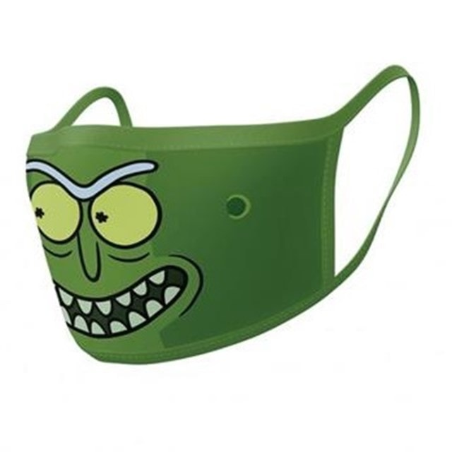 Rick And Morty: Pickle Rick Face Covering (2 pack) - 1