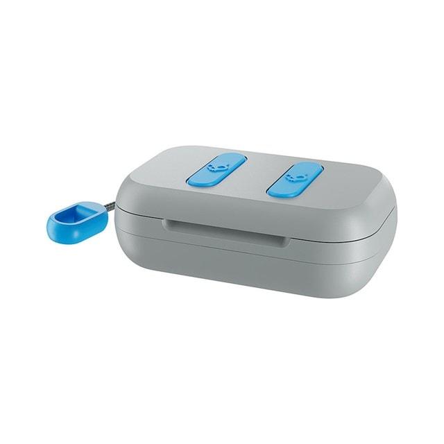 Skullcandy Dime Light Grey/Blue True Wireless Bluetooth Earphones - 4