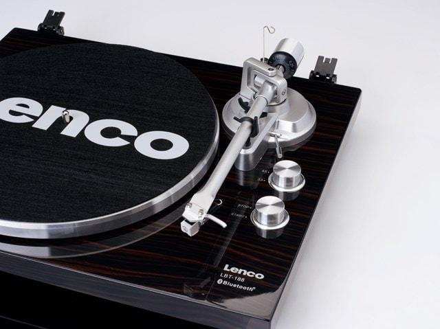 Lenco LBT-188 Walnut Bluetooth Turntable - 9
