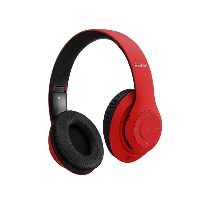 Roam Colours Red Bluetooth Headphones (hmv Exclusive) - 1