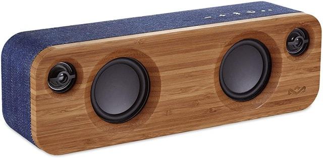 House Of Marley Get Together Mini Denim Bluetooth Speaker - 1