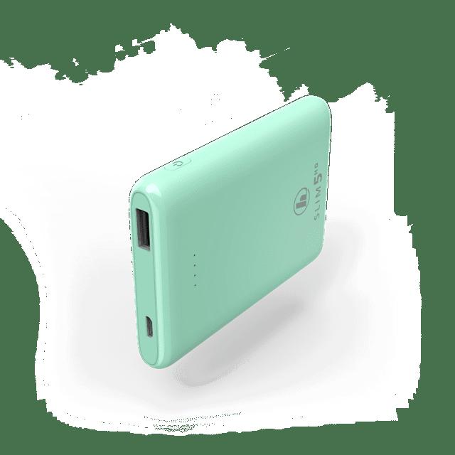Hama Slim Green 5HD 5000mAh Power Bank - 1
