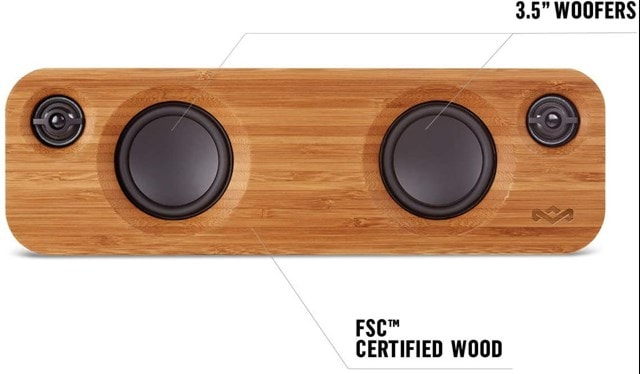 House Of Marley Get Together Mini Denim Bluetooth Speaker - 3