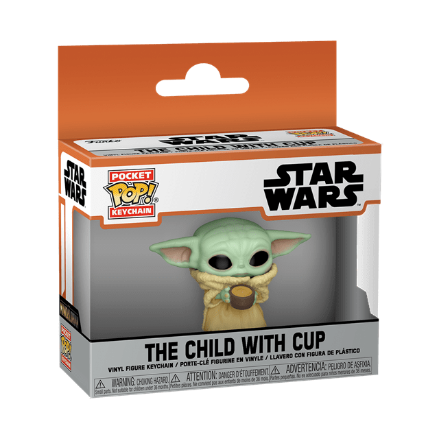 The Child With Cup: The Mandalorian: Star Wars Pop Vinyl Key Chain - 2