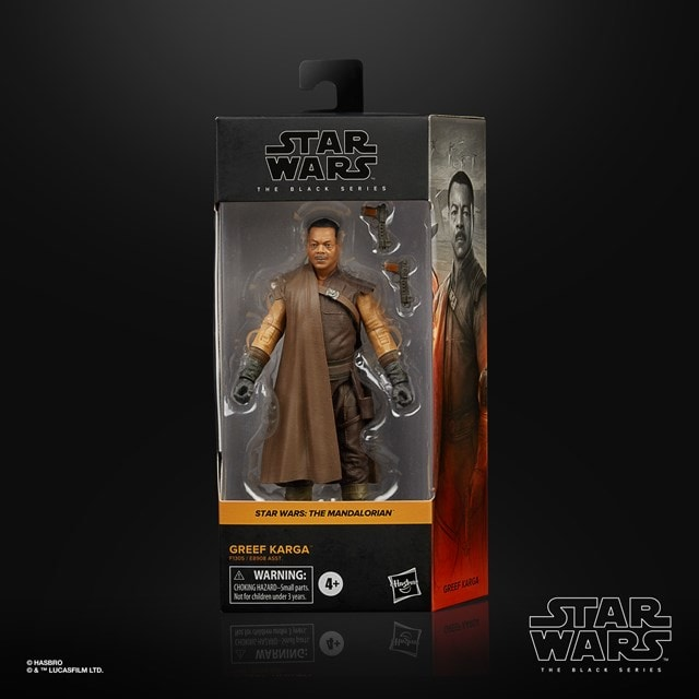 Greef Karga: The Mandalorian: The Black Series: Star Wars Action Figure - 6