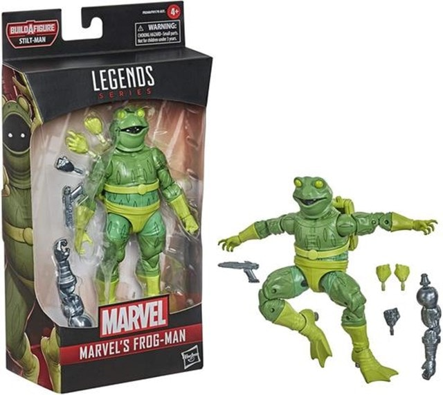 Frog-Man: Hasbro Marvel Legends Action Figure - 6