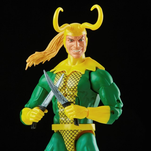 Loki: Retro Hasbro Marvel Legends Series Action Figure - 4