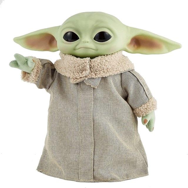 The Child, Grogu (Baby Yoda) Real Moves: Mandalorian: Star Wars Interactive Plush - 2