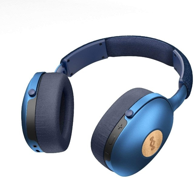 House Of Marley Positive Vibration XL Blue Bluetooth Headphones - 2