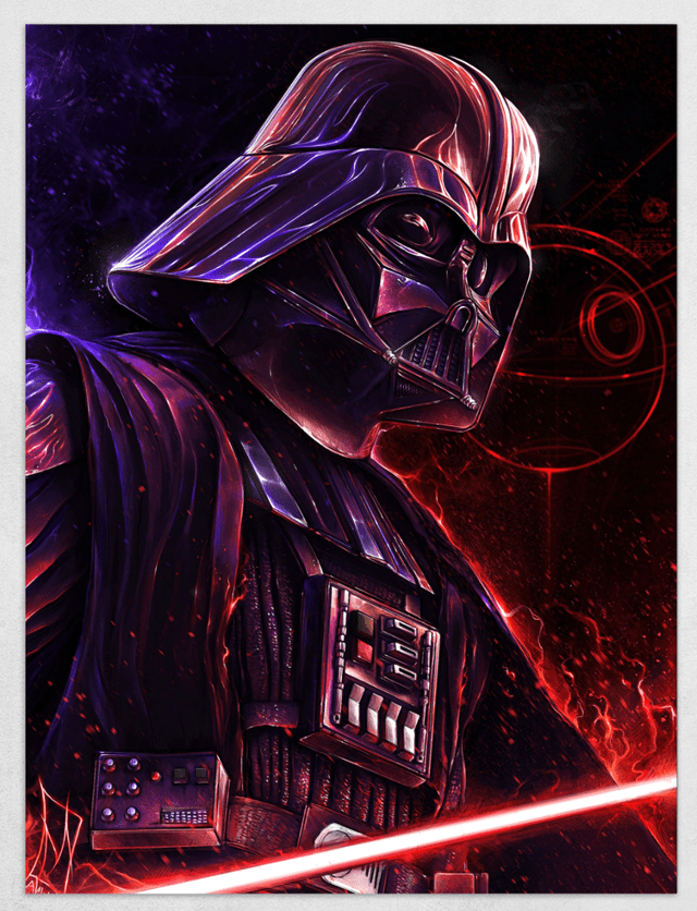 Darth Vader Limited Edition Fine Art Print - 1