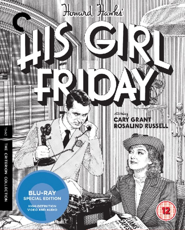 His Girl Friday - The Criterion Collection - 1