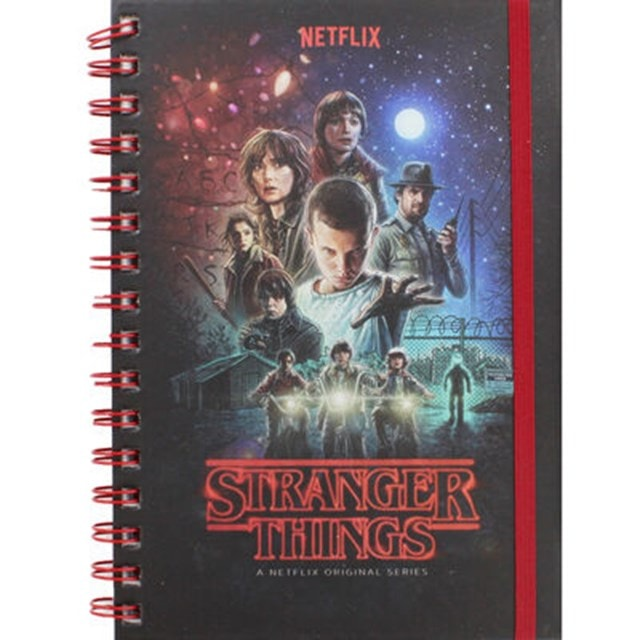 Stranger Things A5 Notebook - 1