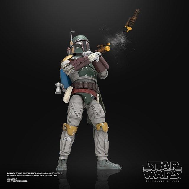Boba Fett: Deluxe: The Black Series: Star Wars Action Figure - 4