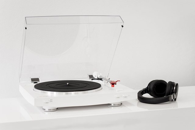 Audio Technica AT-LP3 White Turntable - 4