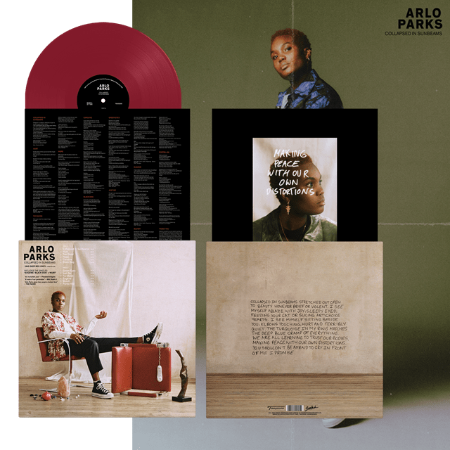 Collapsed in Sunbeams - Limited Edition Red Vinyl - 2