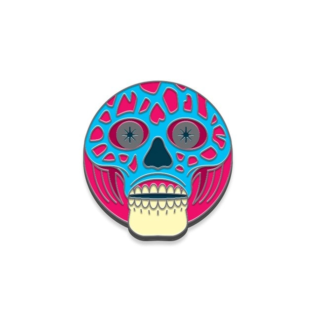 They Live: Alien Pin Badge - 2