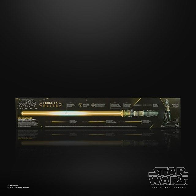 Rey Skywalker: Star Wars Black Series  Force Fx Elite Lightsaber - 5