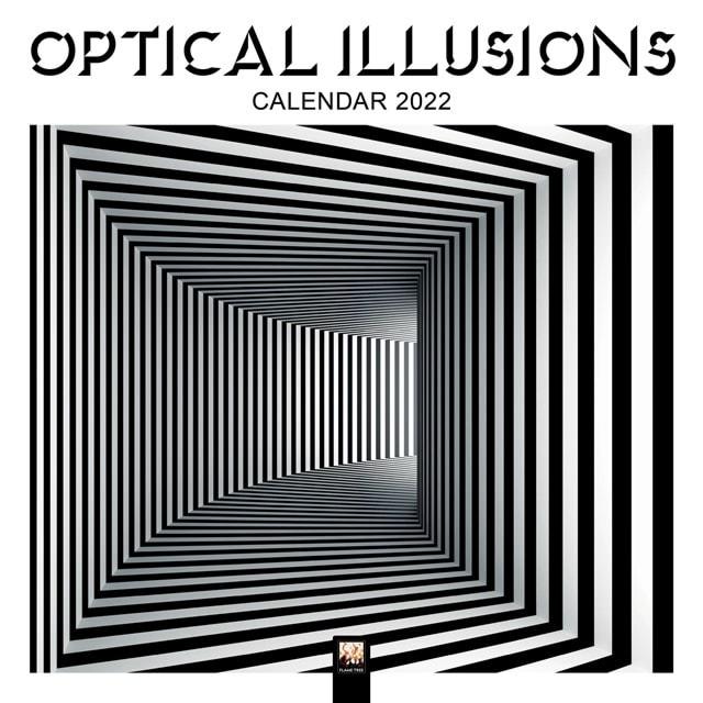 Optical Illusions Square 2022 Calendar - 1