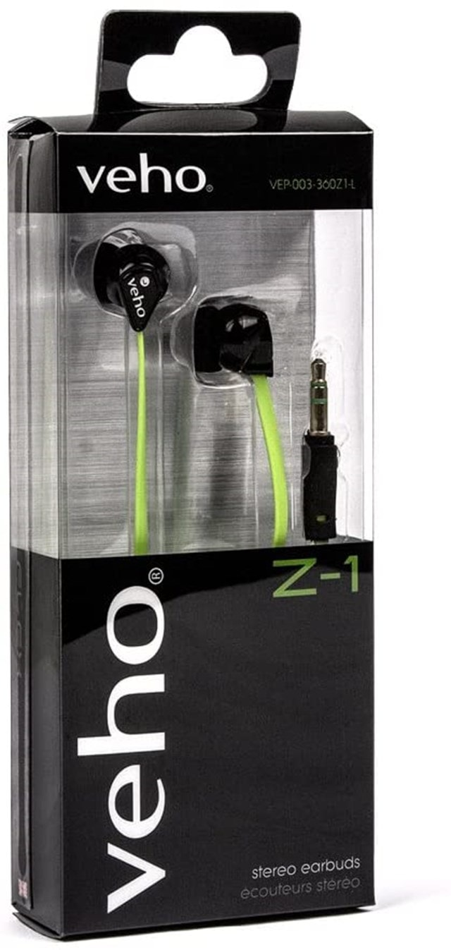 Veho Z1 Green Earphones - 5