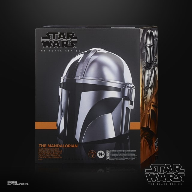 The Mandalorian Electronic Helmet: Star Wars Black Series - 6